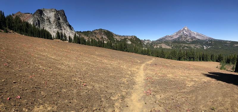North Cinder Peak and Mt. Jefferson