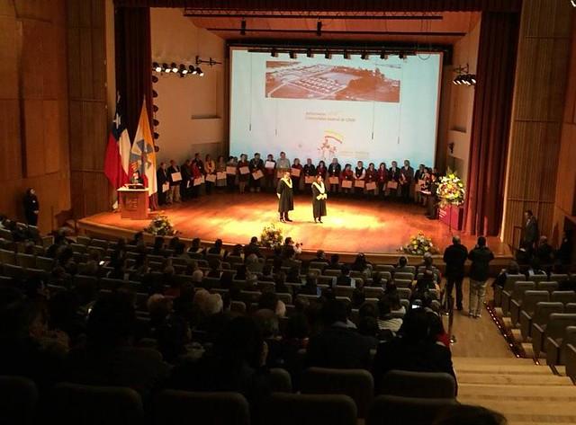 Reconocimiento Decano Dr. Juan Andrés Varas por 25 años en la UACh