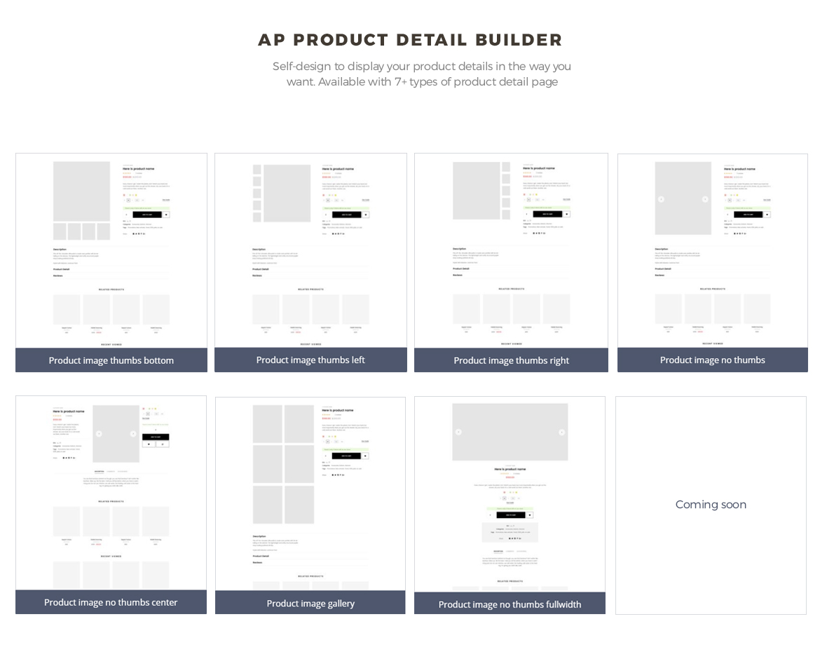 pagebuilder module-product list builder - leo goldday Prestshop theme for hitech store