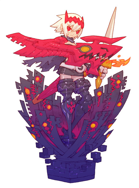 Dragon Marked For Death 皇女イラスト
