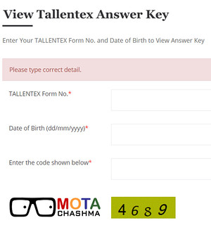 View Tallentex 2019 Answer Key