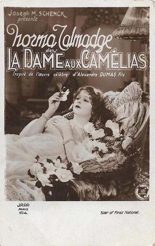 Norma Talmadge in Camille/ La dame aux camélias