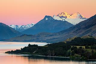 Mountain Sunrise - Lake Wakatipu, New Zealand