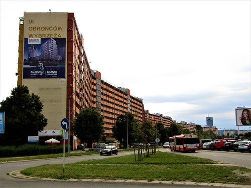 Longest Residential Building in Poland, Falowiec Gdansk