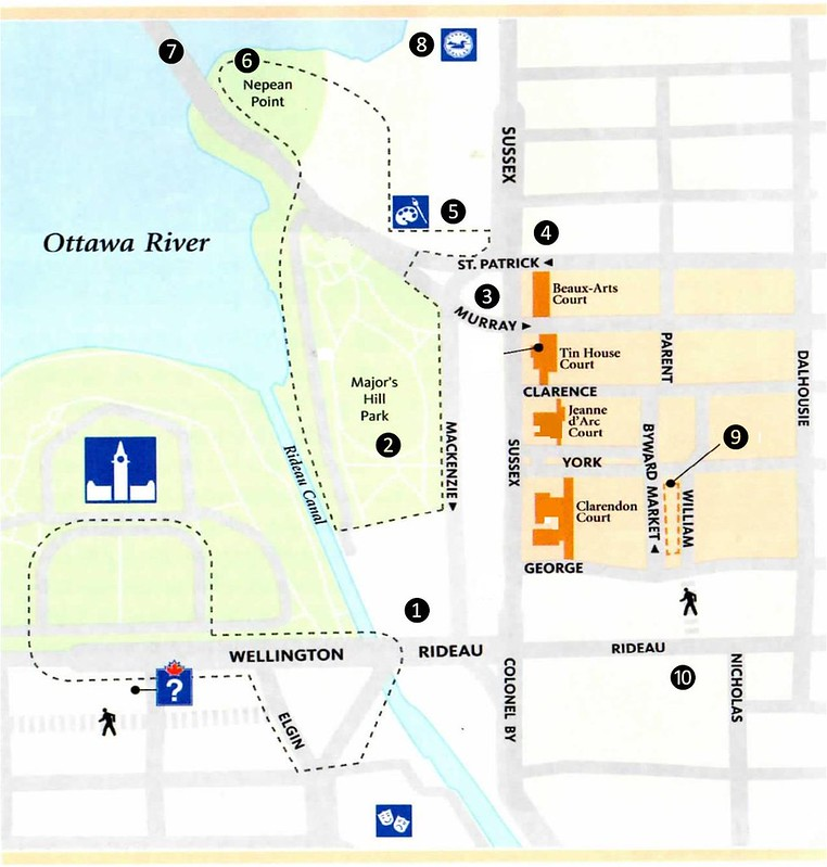 Ottawa ByWard Zone Map