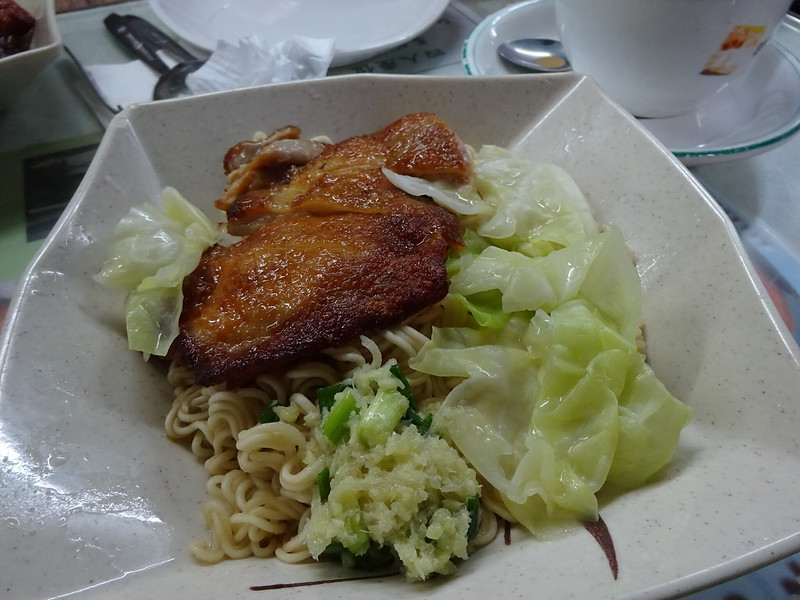 蘭芳園 蔥油雞扒撈丁