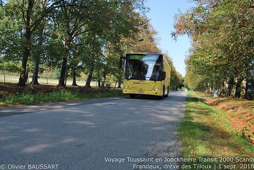 Autobus Toussaint 564118 - Ligne 166c