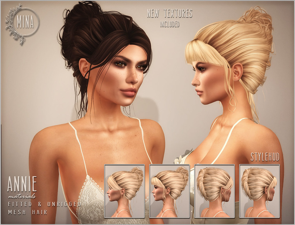 MINA Hair - Annie for Hair Fair 2018 - TeleportHub.com Live!