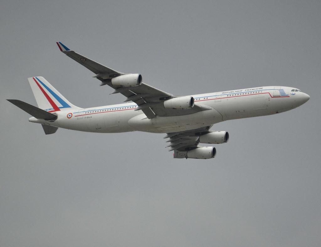 F-RAJA Airbus A340-212 c/n 75 of Armée de l'Air (French Ai… | Flickr