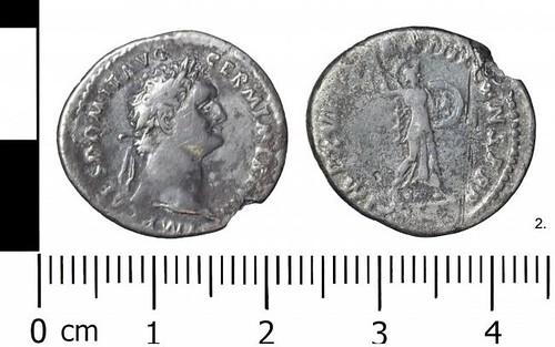 Domitian-era coin found near Ellesmere