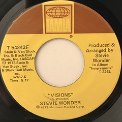 STEVIE WONDER:LIVING FOR THE CITY(LABEL SIDE-B)