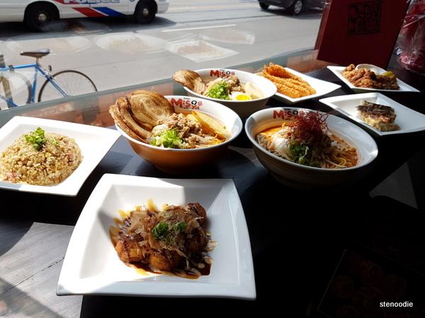 Ramen Misoya Toronto food
