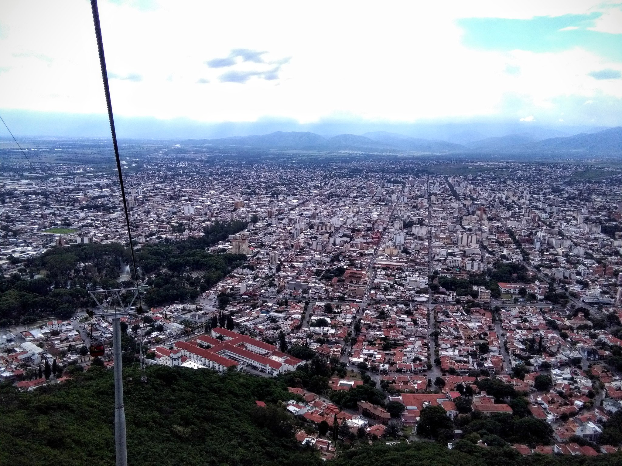 Salta from the Teleferico