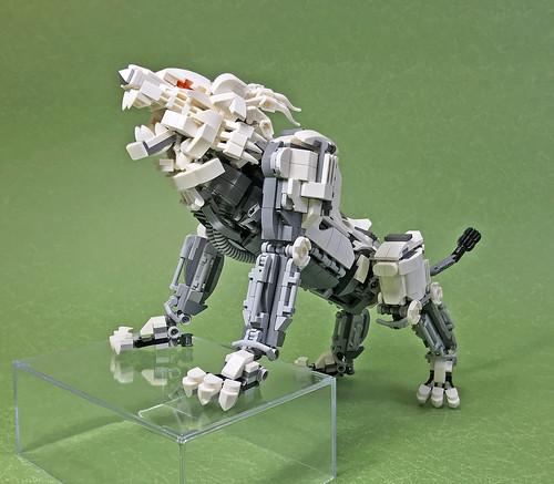 LEGO Mech Lion ver2-03