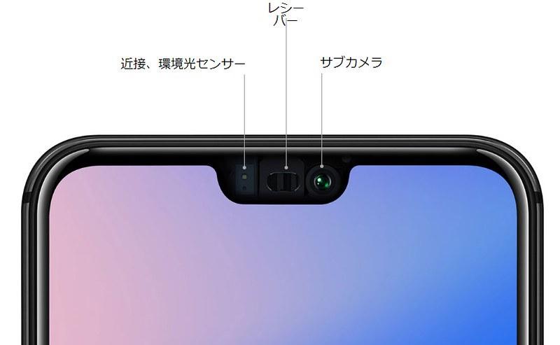 Huawei P20 lite 特徴まとめ (7)