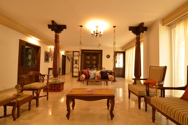 A Chettinad style apartment in Bangalore