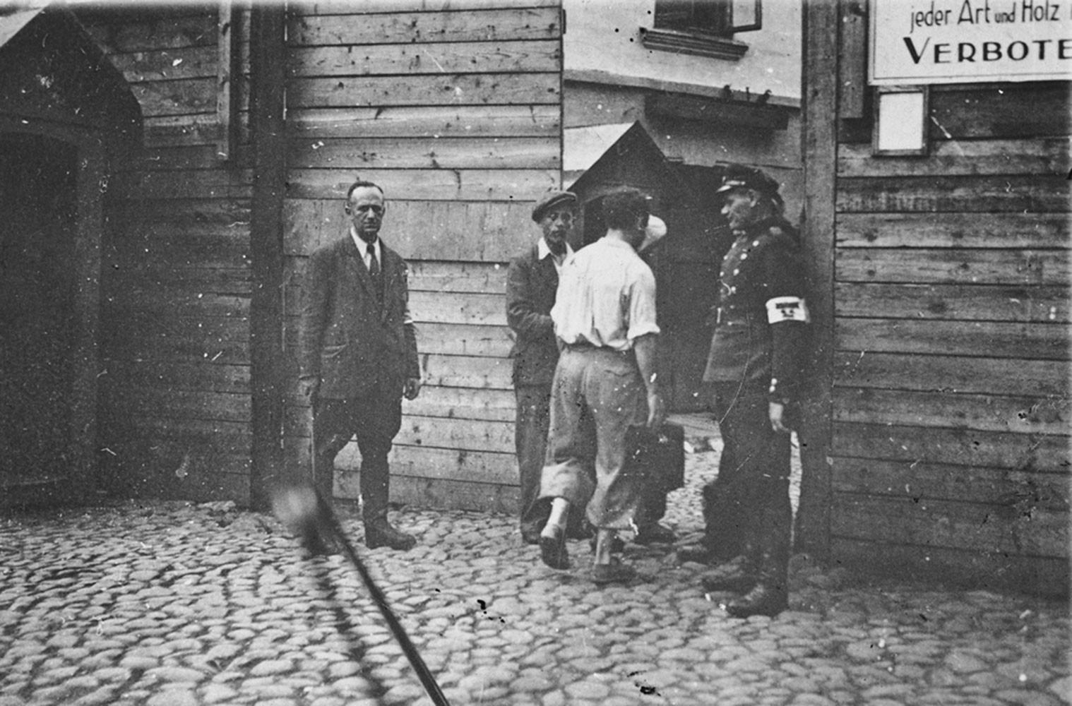 1941. Вход в гетто