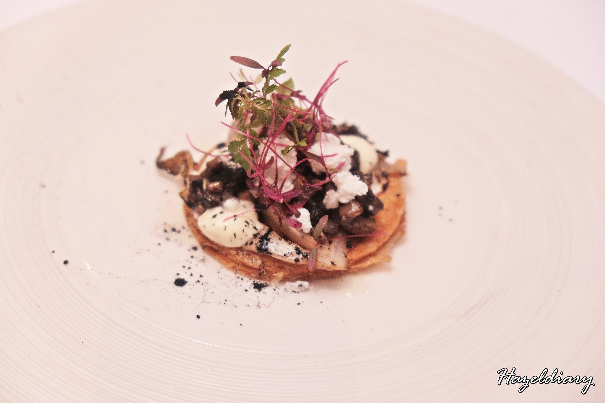 Poolgrill Marriott Tang Hotel-Portobello Mushrooms
