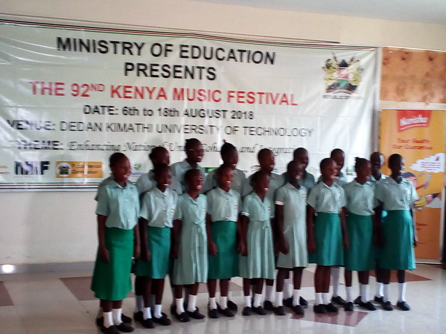 Our SBM School Choir