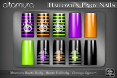 Altamura Halloween Party Nails @ The Episode Event - EP 1 Halloween
