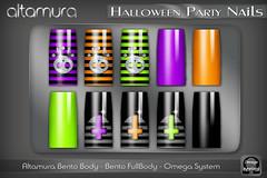 Altamura Halloween Party Nails @ The Episode Event - EP 1 Halloween