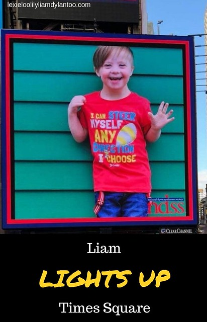 Liam Lights Up Time Square in the NDSS Times Square Video Presentation! #Downsyndrome #NDSS #TimesSquare