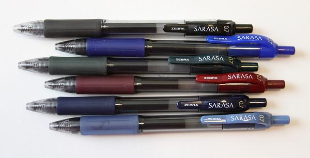 Zebra Sarasa Gel Pens @ZebraPen @ZebraPenUK 2
