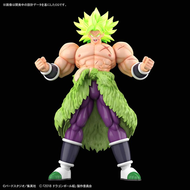 Figure-rise Standard Dragon Ball Super Saiyan Broly Full Power