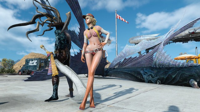 最終幻想XV Nude Cindy