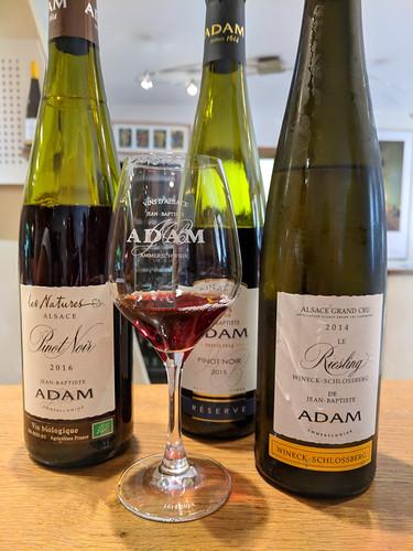 wine tasting @ Jean Baptise Adam