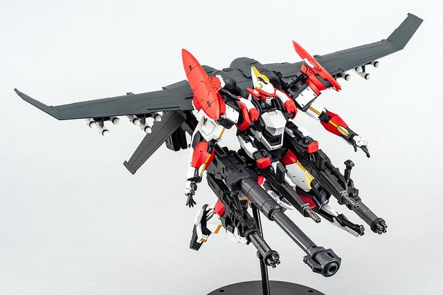 充滿魄力的完全版空戰武裝!青島 ACKS《驚爆危機》ARX-8 烈焰魔劍 最終決戰規格(レーバテイン 最終決戦仕様)