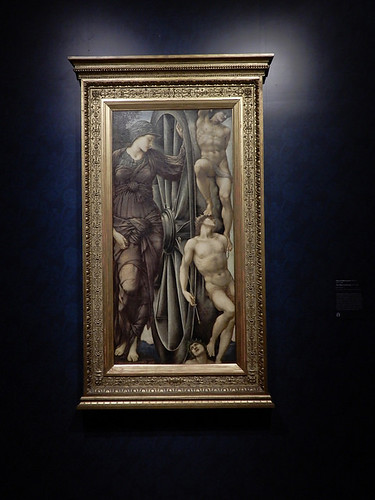 DSCN2753 - The Wheel of Fortune, Edward Burne-Jones, The Pre-Raphaelites & the Old Masters