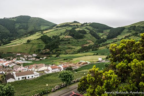 A cute town along São Miguel's East Coast