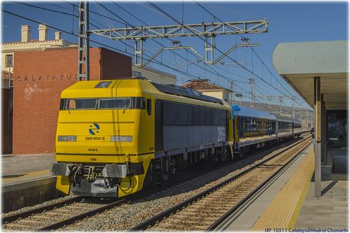Tren de los 80 en Calatayud