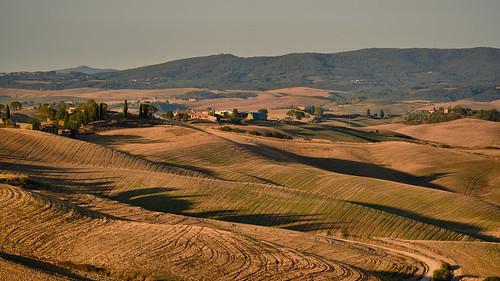 Crete Senesi - Sunrise