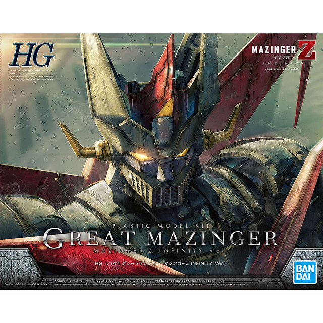【更新試作品圖】MAZIN GO!HG 1/144《劇場版無敵鐵金剛/INFINITY》金剛大魔神(グレートマジンガー) INFINITY Ver.
