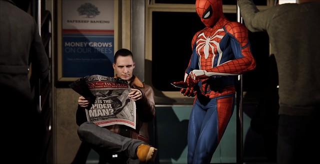 Marvel's Spider-Man - Subway Spider