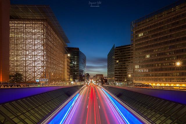 Bruxelles - Rue de la loi