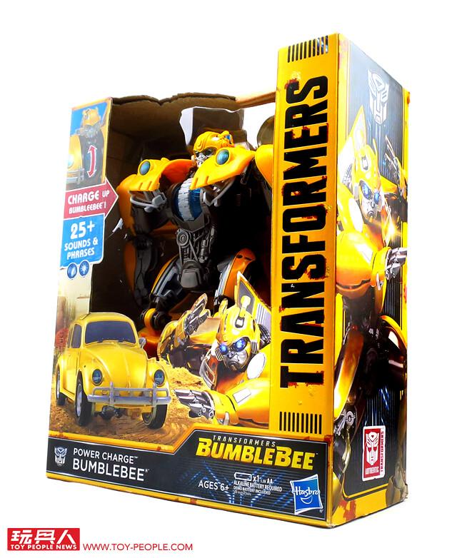 超爽巨大尺寸 × 豪華聲光效果!孩之寶變形金剛「終極聲光能量強化大黃蜂」開箱報告