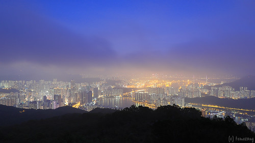 Shek Lung Kung at twilight