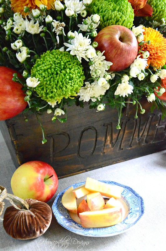 Fall Apple Arrangement-Housepitality Designs