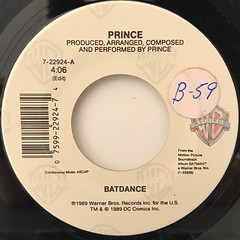 PRINCE:BATDANCE(LABEL SIDE-A)