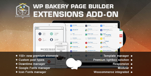 Composium v5.4.0 - WP Bakery Page Builder Addon