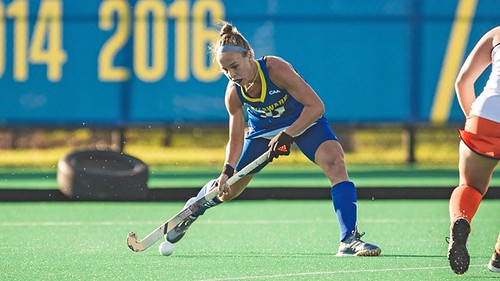 Delaware field hockey shuts out Virginia 2-0