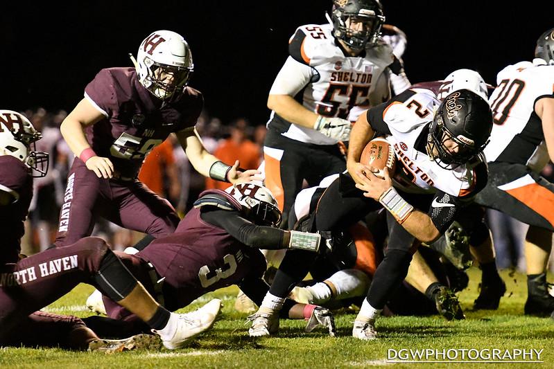 Shelton vs. North Haven - High School Football