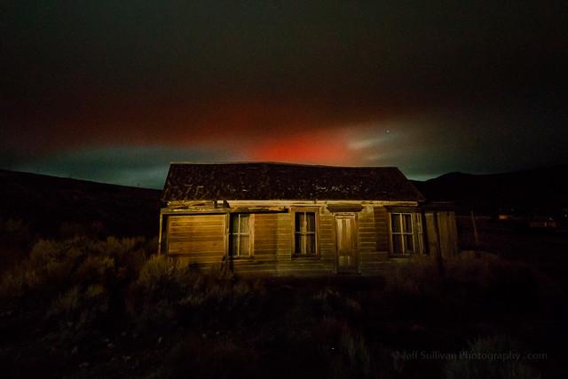 Red Atmospheric Glow