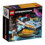 LEGO Overwatch Tracer vs Widowmaker 2