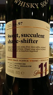 SMWS 44.97 - Sweet, succulent shape shifter