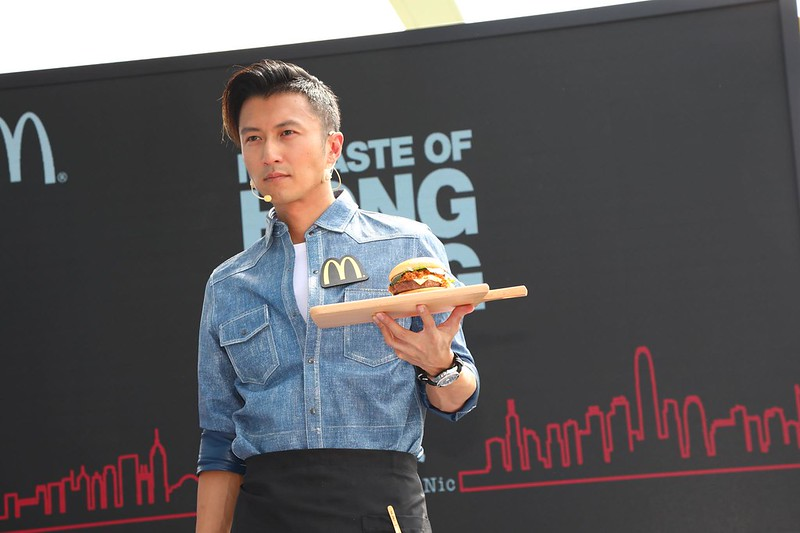 McDonald's Collaboration with Nicholas Tse in China (2)