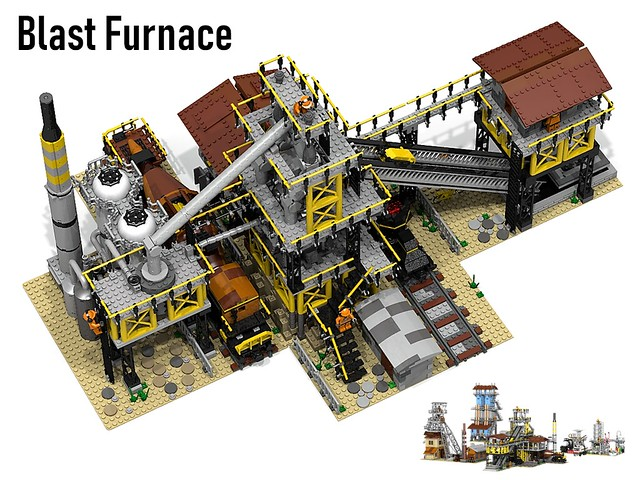 blast furnace top view